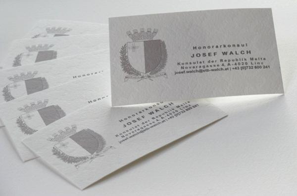 Visitenkarten Hobl Sohn Faszination In Papier